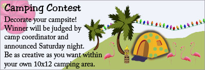 Camping contest